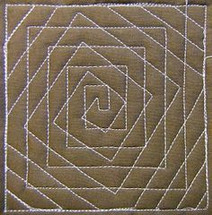 Spiral Illusion by Leah Day site is a project w/MANY ideas