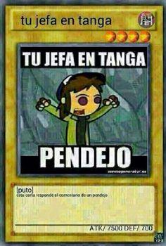 Tu gfa en tanga :v Memes Estúpidos, Funny Memes, Hi Meme, Pinterest Memes, Humor Mexicano, Skullgirls, Spanish Memes, Stand Up Comedy, Country Art