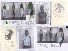 """The knitwear graduate takes us through the creative process behind her sleek and sculptural """"body socks.""""- Tap the link now to see our super collection of accessories made just for you! Sketchbook Layout, Textiles Sketchbook, Fashion Sketchbook, Sketchbook Inspiration, Fashion Sketches, Fashion Portfolio Layout, Portfolio Web Design, Fashion Books, Fashion Art"""