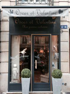 Boutique Oscar et Valentine  Boutique de vêtements pour enfants et bébés  14 Avenue Victor Hugo 75016 Paris