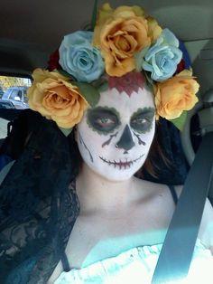 holloween dia de los muertos (day of the dead )