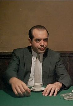 """A Bronx Tale - Sonny LoSpeccio """"Mickey Mantle don't care about you, so why should you care about him? Nobody cares"""" #GangsterMovie #GangsterFlick"""