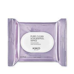 Kiko Pure Clean Scrub & Peel Wipes - Lisa Eldridge uses these to exfoliate lips.