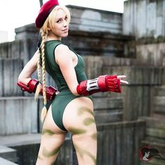 #tbt    #cammy #cosplay by @supertaunt