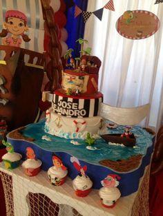 Torta de Jake y los piratas...