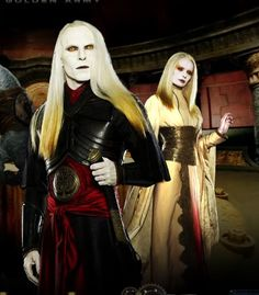 Princess Nuala & Prince Nuada ~ Hellboy 2: The Golden Army, 2008