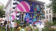 Le pavillon des Canaux aux couleurs d'Alice