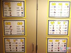 FREE Long Vowel Team Anchor Charts!