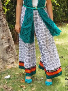 What to wear with #Palazzo Pants: Shorter Stature Girls