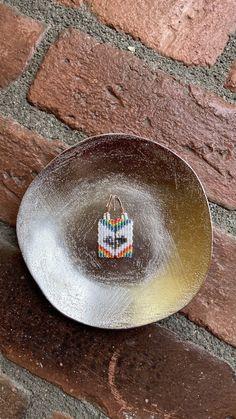 Chubbeadrings Pride Symbol Rectangular Heart Puzzle Beaded Earrings By Chubbeadrings by chubbybeadedearrings on Etsy