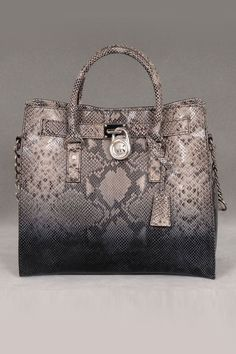 Michael Kors Hamilton N/S Tote In Dark Sand With Silver Hardware - I just bought this and the shoes to match!