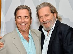 Beau Bridges and Jeff - actors Lloyd Bridges, Jeff Bridges, Star Track, The Big Lebowski, Jessica Biel, Jack Nicholson, Orange Is The New Black, Hollywood Walk Of Fame, Just Smile