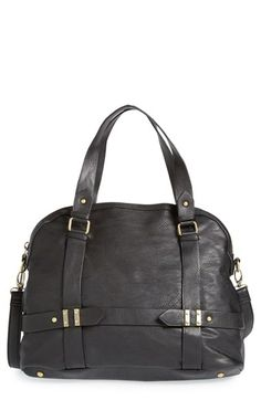 Sole Society 'Tristan' Vegan Leather Bowler Bag | Nordstrom