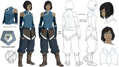 How to draw legend of korra characters character drawing character sheet character illustration character design character The Last Airbender Characters, Avatar Characters, Avatar The Last Airbender Art, Korra Avatar, Team Avatar, Character Sheet, Character Modeling, Character Drawing, Lauren Montgomery