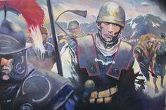 La guerre des Gaules: passage des Alpes (V. Pompetti)