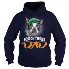 Boston Terrier Dad With Ciga - Do You Love Your Boston Terrier Dad With Ciga? This Is For You! Buy now!  #Boston Terrier #Boston Terriershirts #iloveBoston Terrier # tshirts