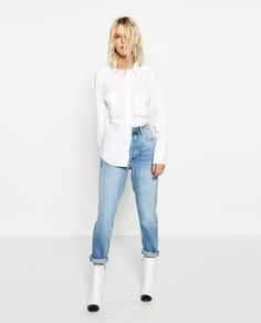 BELLED SLEEVE SHIRT #joinlife-View all-TOPS-WOMAN | ZARA United States