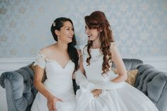 Jessica and Claudia had a Quaker ceremony in Bristol. A beautiful, vintage and quirky wedding filled love and laughter. My first Quaker wedding. Quirky Wedding, Amazing Weddings, Bristol, Wedding Photography, Wedding Dresses, Mj, Beautiful, Vintage, House