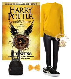 """Harry Potter an the cursed child"" by claire5b ❤ liked on Polyvore featuring STELLA McCARTNEY and Puma"