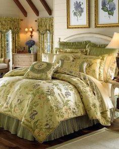 Croscill Iris Comforter Set, Queen, Multi