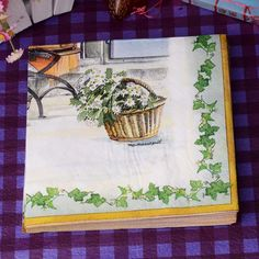 Fresh Courtyard Paper Napkins Daisy Flower Cafe & Party Tissue Napkins Decoupage Decoration Paper 33cm*33cm 20pcs/pack/lot