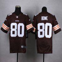 cleveland browns 80 dwayne bowe brown elite jersey