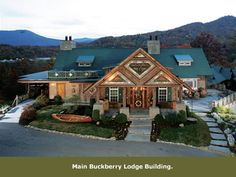 The Buckberry Lodge....such a neat place....away from the hustle & bustle of Gatlinburg