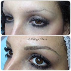 Eyebrows permanent makeup (healed result) | Yelp