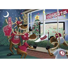 Alabama Crimson Tide Christmas Cards - The Danbury Mint