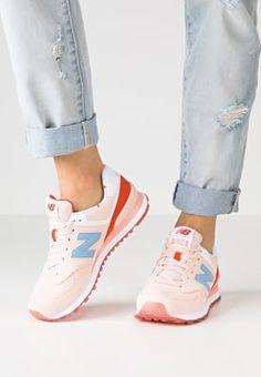 New Balance WL574 - Sneakers basse - shell pink/coral glow a € 85,00 (09/06/16) Ordina senza spese di spedizione su Zalando.it