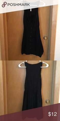 Black Xhilaration Dress 🔴ALL OFFERS ACCEPTED! Item will be removed from my closet after tomorrow if no offers are made.🔴Reasonable offers will be accepted - cleaning out my closet!!!! Good condition. Has pockets! Xhilaration Dresses Mini