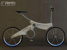 Espectacular bicicleta plegable #taobike