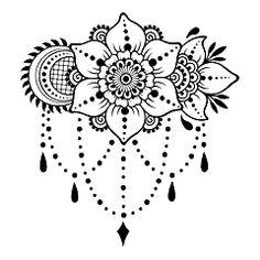 Henna tattoo flower template Mehndi style Set of… Henna Tattoo Blumenvorlage Mehndi-Stil Reihe von ornamentalen Mustern im orientalischen Stil The post Henna Tattoo Blumenvorlage Mehndi-Stil Set von … appeared first on Frisuren Tips - Tattoos And Body Art Tatoo Henna, Henna Tattoo Designs, Henna Art, Henna Mehndi, Henna Mandala, Flower Mandala, Henna Designs Drawing, Designs Mehndi, Arabic Henna
