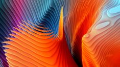 Wallpaper Apple Abstract, Orange, White, And Blue Abstract Free Pc Wallpaper, Mac Os Wallpaper, Macbook Pro Wallpaper, 4k Wallpaper Iphone, Waves Wallpaper, Widescreen Wallpaper, Apple Wallpaper, Live Wallpapers, Cool Wallpaper