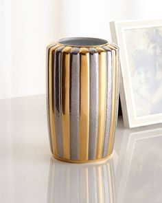 Voyage d'Or Small Vase