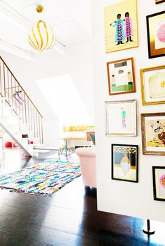 Inside a Colorful Family Home in Copenhagen via - Decoration for House My Living Room, Home And Living, Living Spaces, Home And Family, Family Rooms, Wall Spaces, Piece A Vivre, Scandinavian Home, Home Decor Inspiration