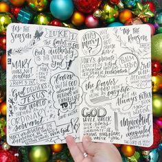 Church lettering inspiration and creative sketch notes | sermon notes | faith journaling @krystalwhitten