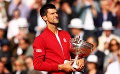 Download wallpapers Novak Djokovic, ATP, Tennis, Roland Garros, Serbian tennis player