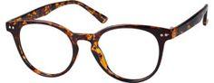 Round Keyhole Eyeglasses