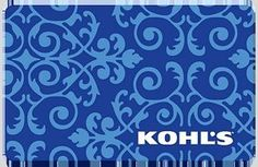 Grand Prize: A $100.00 Kohl's e-Gift Card. Each person may enter once per day during the run of this contest. We suggest that you do enter once daily as this greatly increases your chances of winning compared to just entering only once.