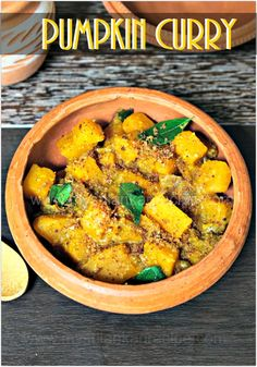 Sri Lankan pumpkin curry recipe with roasted coconut and roasted mustard and other spices make this curry delicious. Pumpkin curry with step by step picture