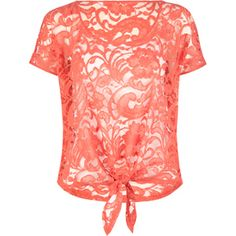 pink lace shirt supper cute love the tie Pretty Outfits, Cute Outfits, Pretty Clothes, Front Tie Top, Front Lace, Perfect Wardrobe, Playing Dress Up, Passion For Fashion, Dress To Impress