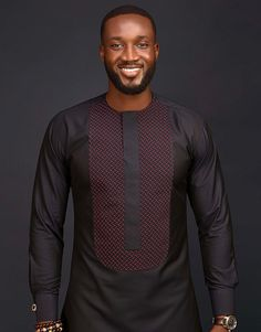 Call, SMS or WhatsApp if you want this style, needs a skilled tailor to hire or you want to expand more on your fashion business. African Wear Styles For Men, African Shirts For Men, African Dresses Men, African Attire For Men, African Clothing For Men, Nigerian Outfits, Nigerian Men Fashion, African Print Fashion, Mens Fashion