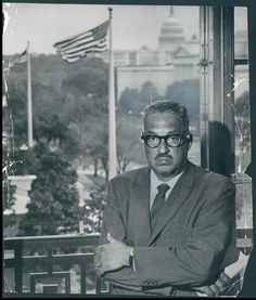 The Baltimore native and Frederick Douglass High School grad, appointed chief counsel for the NAACP in 1940, successfully argued against school segregation before the U.S. Supreme Court, which outlawed the practice with its 1954 Brown v. Board of Education decision. He was appointed to the Supreme Court by President Lyndon Johnson in 1967 -- the first African-American to serve on the court -- and remained there until 1991.