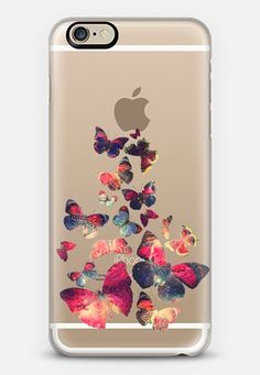 Butterflies Space iPhone 6 case by Eleaxart | Casetify