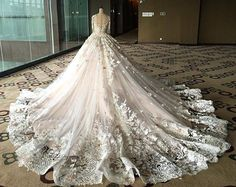 Melta Tan: Morning Preparation for Bride today. Evening Dresses For Weddings, Dream Wedding Dresses, Wedding Gowns, Storybook Wedding, Wedding Book, Haute Couture Dresses, Wedding Bridesmaids, Beautiful Bride, Bridal Style