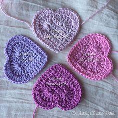 Pattern is available in English – BautaWitch Filet Crochet, Knit Crochet, Crochet Hats, Dont Break My Heart, Crochet Squares, My Heart Is Breaking, Crochet Patterns, Crochet Ideas, Crochet Earrings