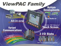 ViewPAC is an innovative product by ICP DAS. It is a Programmable Automation Controller (PAC) which combines display, operation and control in one unit. ViewPAC provides perfect solutions to integrate HMI, data acquisition and control in one PAC. It overthrows traditional image that HMIs and controllers are working separately and solves many communication problems between HMIs and controllers. More info: http://www.icpdas-usa.com/viewpac_display_operation_control.html?r=pinterest