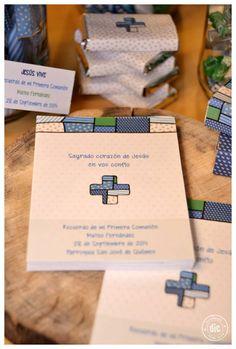 EsComunión para varón - centros de mesa - golosinas personalizadas - souvenirs
