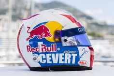 Jean-Eric Vergne helmet, Toro Rosso, Monaco, 2013